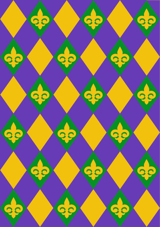 new orleans: Mardi Gras background design