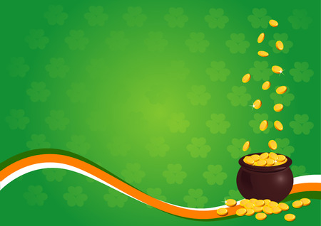 A perfect background for St. Patricks Day Vector