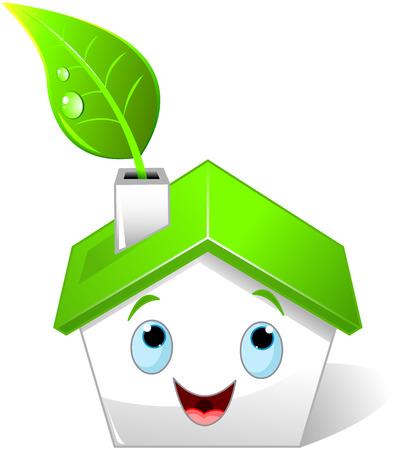 proprietary: Illustration of green house