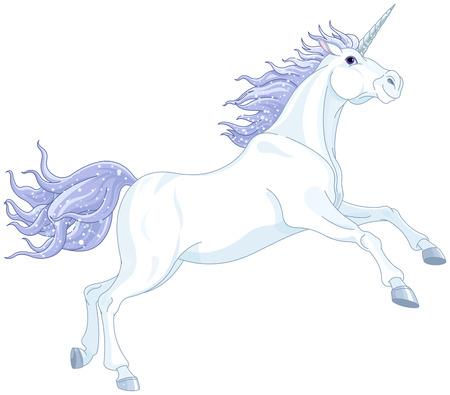 unicorn: Illustration of very cute unicorn