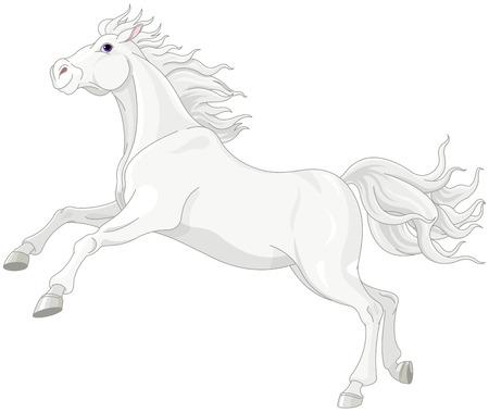 Caballito Blanco Animado