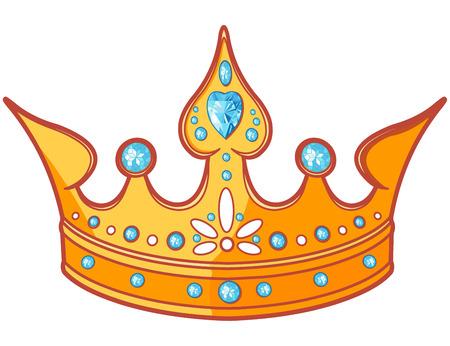 Beautiful shiny princess tiara