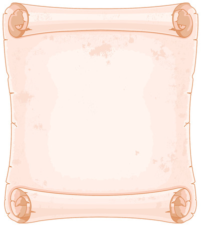 Illustration of old-fashioned manuscript