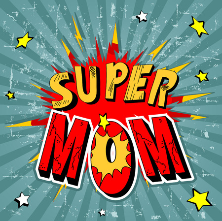 Illustration for Mother Day Background