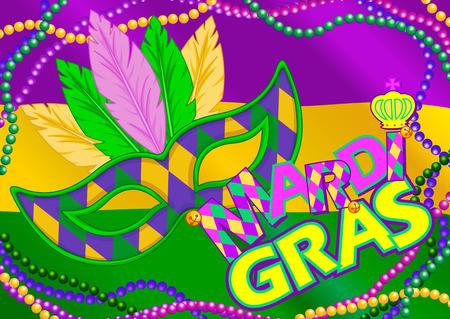 mardi gras mask: Mardi Gras mask design background