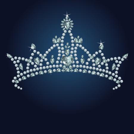 Belle Couronne de princesse true brillant