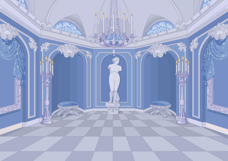 Ilustracja Pałacu hali Ilustracje wektorowe