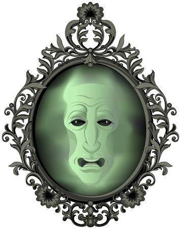 De magische spiegel op de muur
