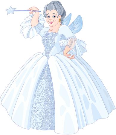 Illustration of Fairy godmother