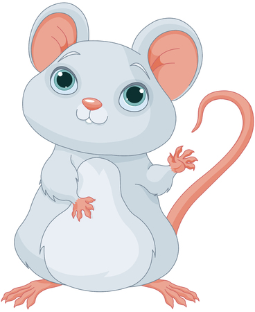 Illustration of cute mice