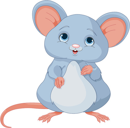 image: Illustration of cute mice