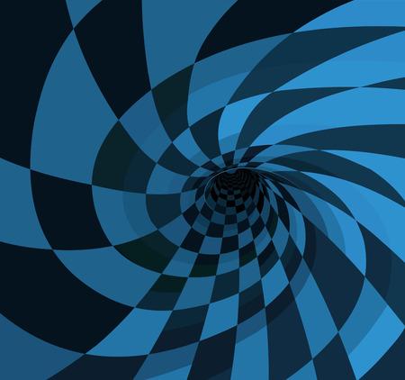 Illustration of wonderland rabbit hole  イラスト・ベクター素材