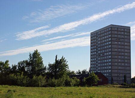 towerblock: parkflats Stock Photo
