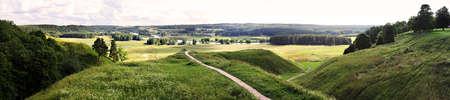 Kernave - Lithuanian historic capital Reklamní fotografie - 122352299