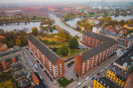 Copenhagen Amager skyline city view at the autumn Reklamní fotografie