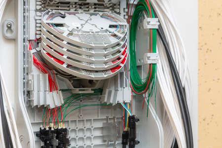 Fiber Distribution Box. PLC Splitter Ftth Terminal Box