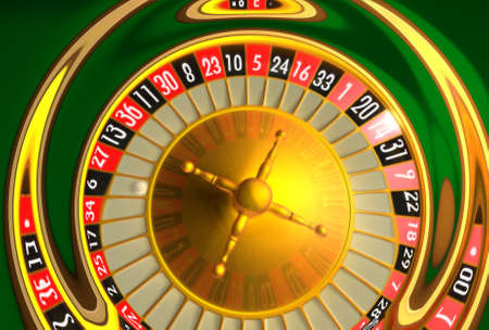 rotations: Wide ripple concept of roulette Stock Photo