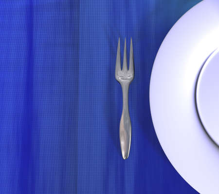 aligned: Simple image for use in menu compositions for restaurants or other kind of design.