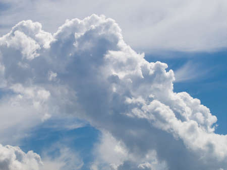 billow: Clouds on the blue sky - background or just clouds
