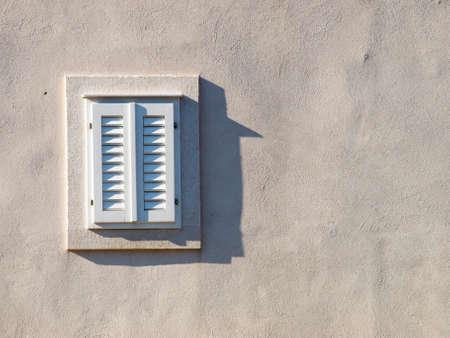 Fen�tre sur la vieille maison dans Dubrovnik, Croatie