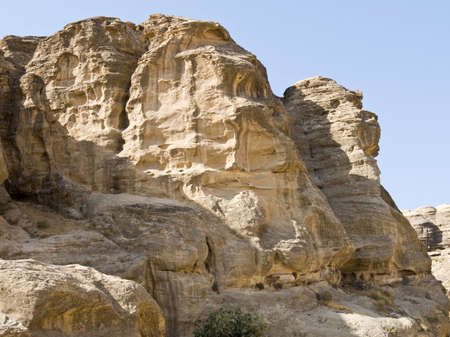 khazneh: Landscape of Petra - Nabataeans capital city (Al Khazneh) in Jordan. Early morning.
