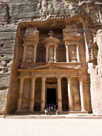 Tr�sor de d�tail temple nabat�en temple ou tombeau