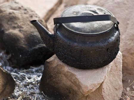 petra  jordan: Bedouin coffee or tea in Petra, Jordan