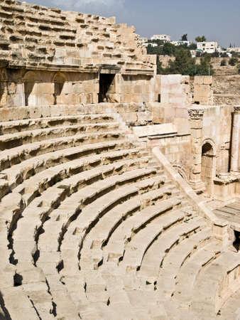 adoration: Amphitheater in Jerash, Jordan