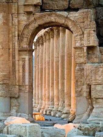syria: R�mischen Zeit in der Stadt Palmyra (Tadmor), Syrien. Griechisch-r�mische, persische Periode.