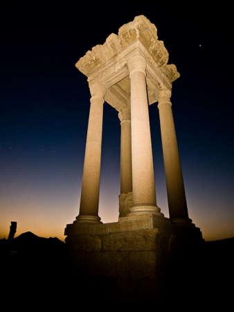 per�odo: Ancient Roman time town in Palmyra (Tadmor), Syria. Greco-Roman & Persian Period.