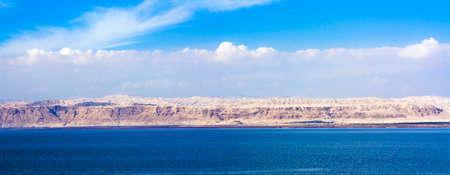 Blick auf Israel und die Toten Meer in Jordanien.