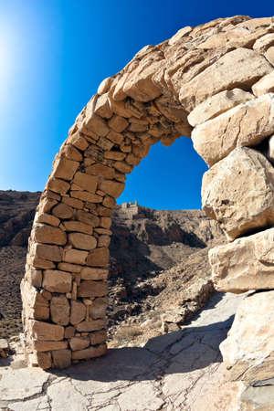 syria: Monastery of Deir Mar Musa al-Habashi Nebek, Syria. Place of multi religion dialogue.
