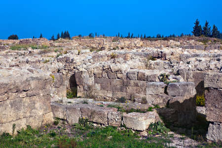 sited: Ugarit ancient cosmopolitan port city, sited on the Mediterranean coast near Latakia. from 8000 BC to 1200 BC. The oldest civilization with alphabet and dictionary