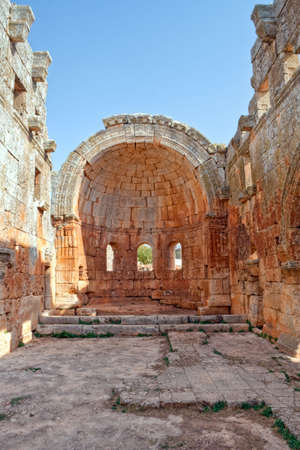 ecclesiastical: This is one of the best preserved Syrian - Byzantine ecclesiastical building (5th century). Three-nave cathedral.