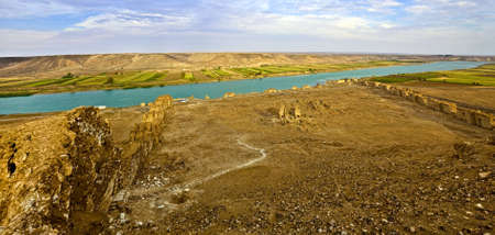 reign: Halabia is situated on the Euphrates, as part of the Silk Road network until the downfall of Palmyra following the defeat of queen Zenobia at the hands of the Romans. During the reign of the Byzantines was restored with massive fortifications.