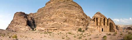 Petra - Nabataeans capital city (Al Khazneh) , Jordan. Monastery tomb. Roman Empire period. Stock Photo - 6758096