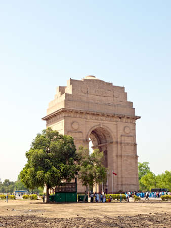 india gate: India Gate at New Delhi - national monument