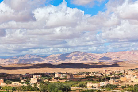 Panorama of Morocco roses valley Stock Photo - 10639415