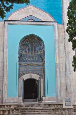mehmet: Exterior of Green Mausoleum in Bursa with The sarcophagus of Sultan Mehmet I