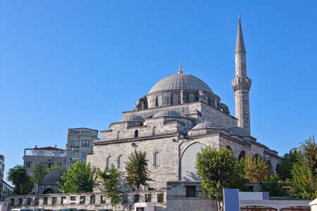 One of the many mosques in the center of Istanbul. photo