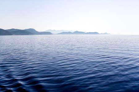 Island Mljet early morning panorama, near Dubrovnik, Croatia. Stock Photo - 14313326