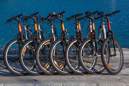 rental: Rent-a-bike en bruto de las bicicletas listas para alquilar