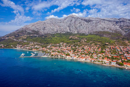 Small town Orebic, Peljesac peninsula, Croatia. Well known tourist destination. Stock Photo - 16693948
