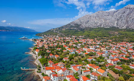 Small town Orebic, Peljesac peninsula, Croatia. Well known tourist destination. Stock Photo - 16693931
