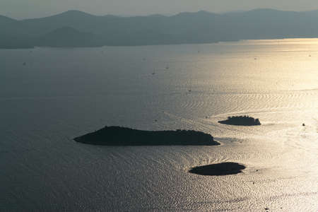 Adriatic landscape from aerial helicopter Stock Photo - 16694106