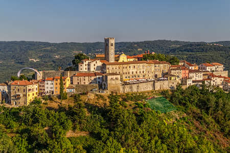 Motovun is a small village in central Istria (Istra), Croatia. City containing elements of Romanesque, Gothic and Renaissance styles. photo