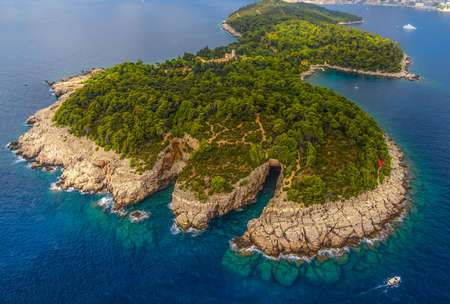 balkan: Lokrum Island and nature park near Dubrovnik, Croatia