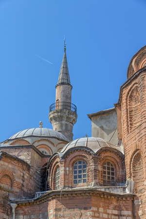 byzantine: Chora Church and museum the most beautiful Byzantine church after Hagia Sophia in Istanbul, Turkey.