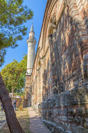 fatih: Chora Church and museum the most beautiful Byzantine church after Hagia Sophia in Istanbul, Turkey.