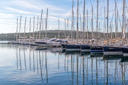 Sibenik yachts port